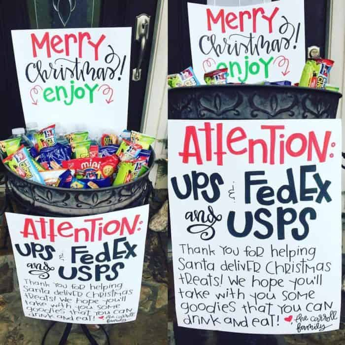 It's a great way to pay it forward to your UPS, FedEx or USPS drivers! She probably is one of the best Hand Lettering artists I know!