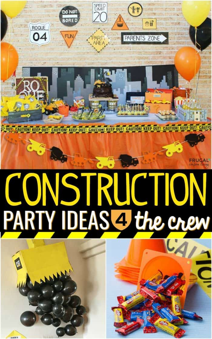 Under Construction Party Ideas