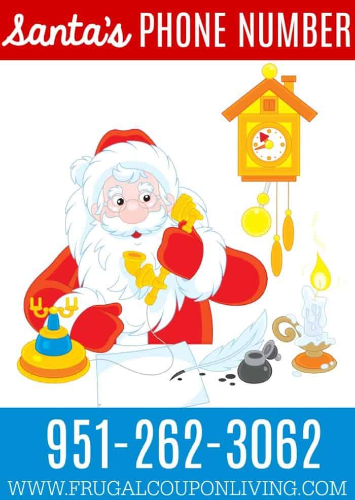 Santa's Phone Number for Kids