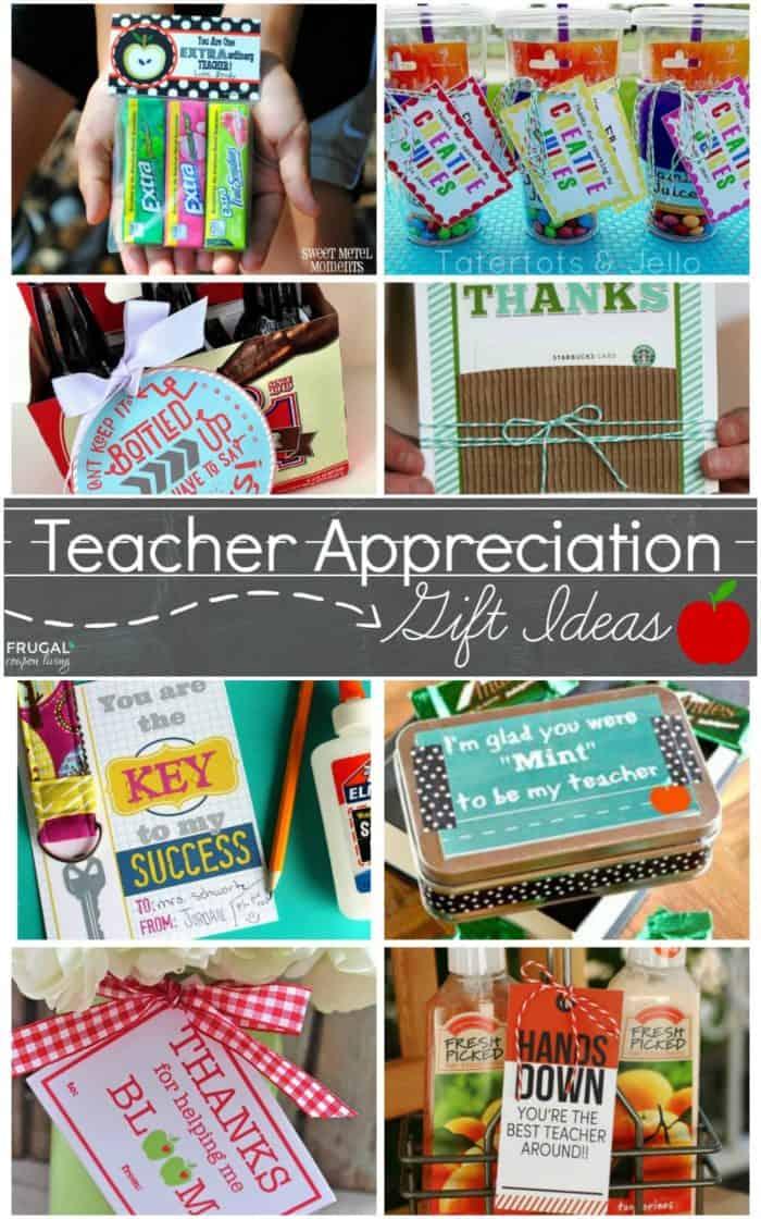 Teacher Appreciation Printables | Ways to Show Your Teacher