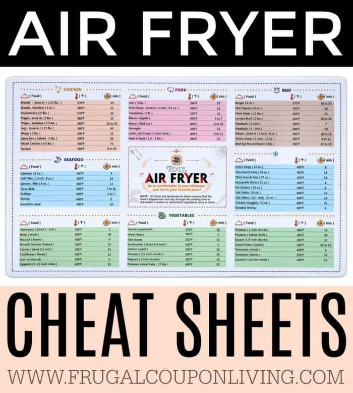 It's just an image of Printable Air Fryer Cooking Chart with vegetable glycemic index