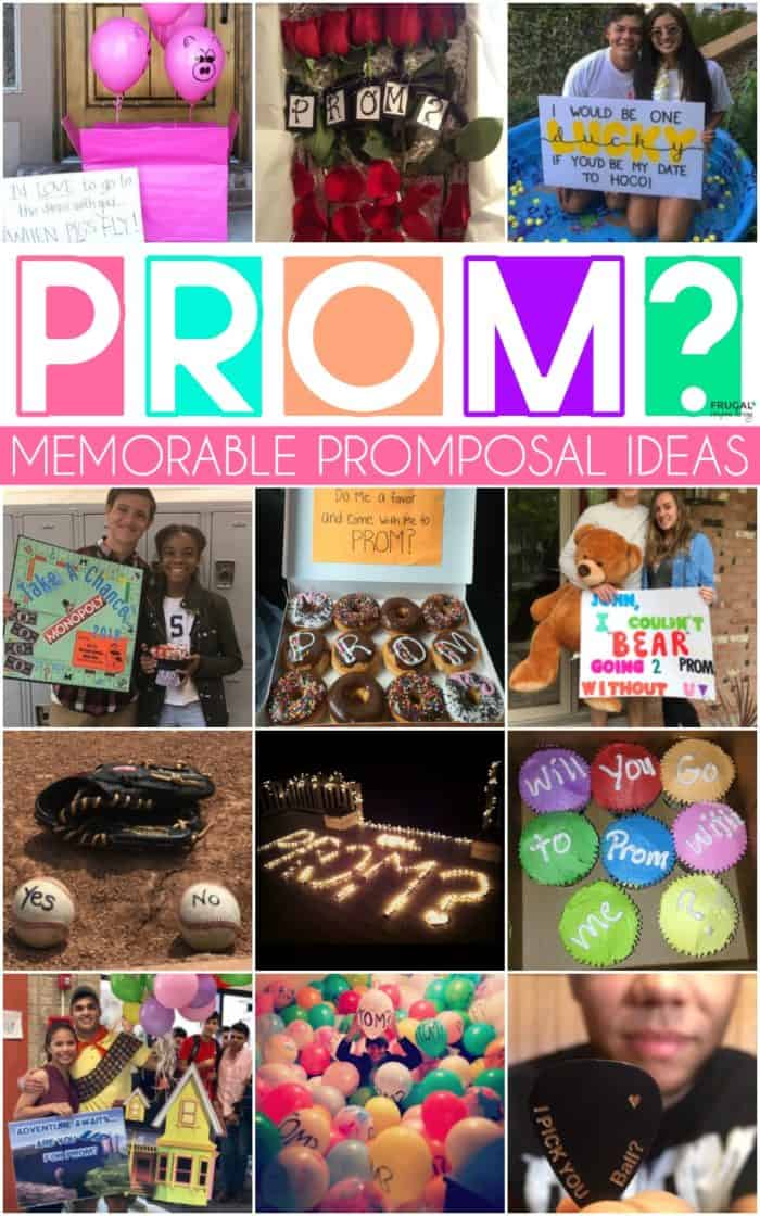 Memorable Promposals Ideas