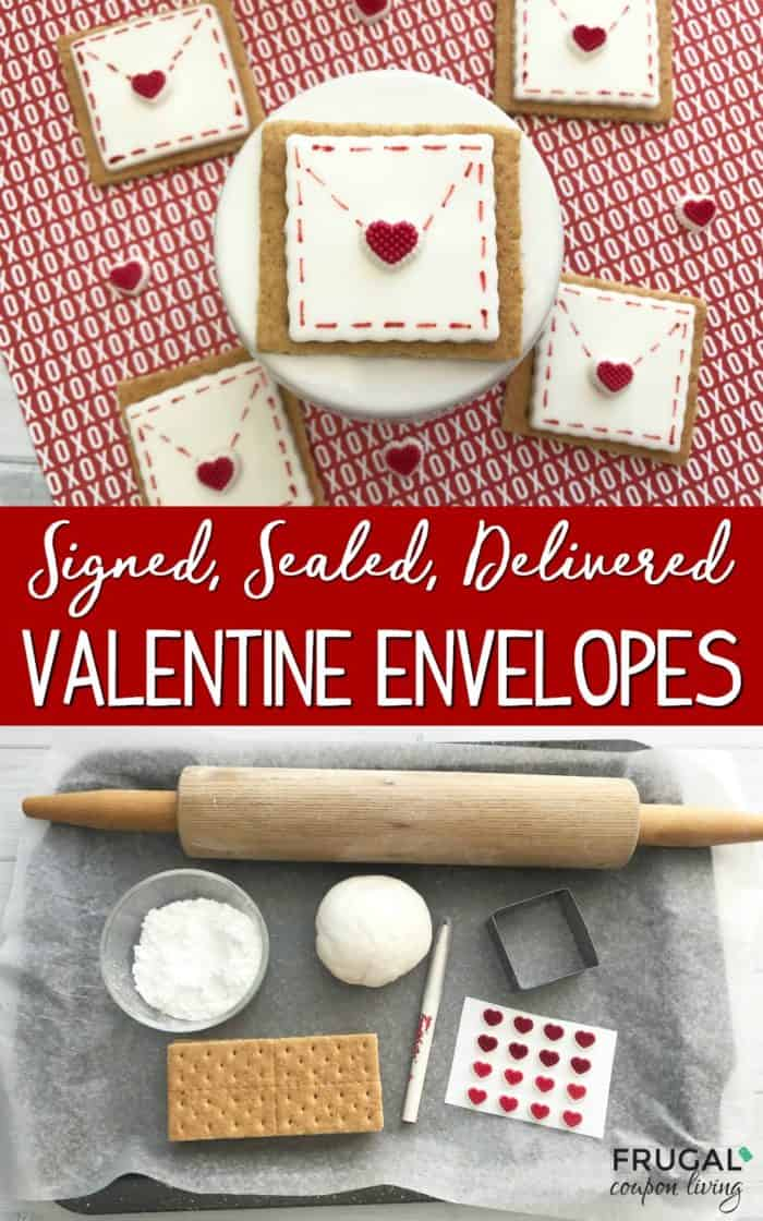 Valentine's Day Cookie Envelopes