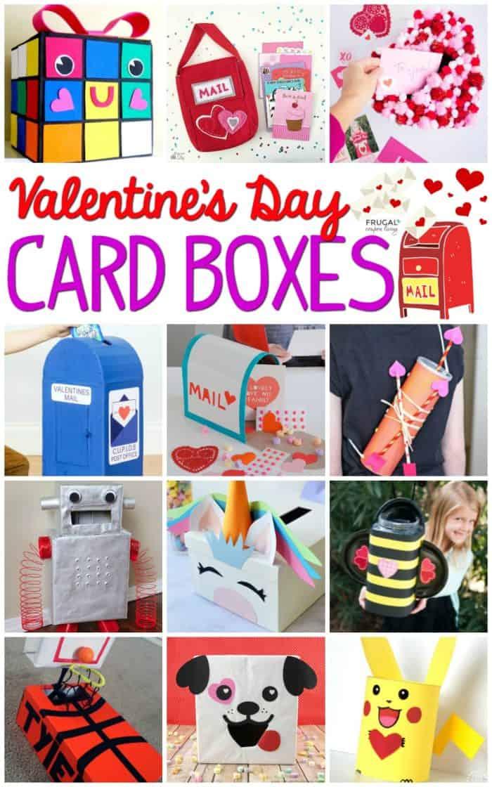 DIY Valentine Mailbox Ideas | Valentine Card Box | Classroom Valentine Party | Valentine's Day Crafts#FrugalCouponLiving #ValentinesDay #ValentineCrafts #Valentinesdaycardboxes #cardboxes #mailboxes #valentinesmailboxes #mailboxideas #cardboxideas #valentinesdayparties #classroomvalentineparty #valentinecardideas