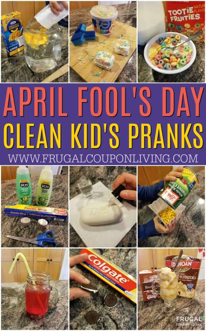 Clean April Fools Pranks for Kids