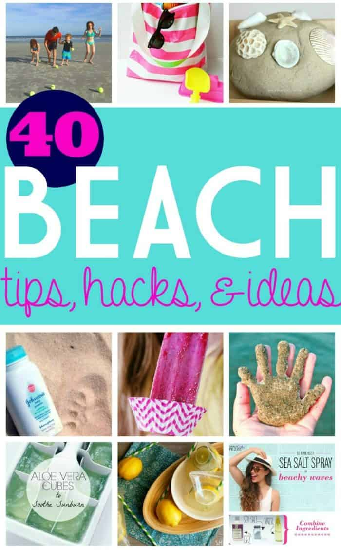 Life Hacks for the Beach - these beach tips and ideas will perfect any family vacation. #beach #travel #FrugalCouponLiving #beachhacks #tips #hacks #vacation #family #beachtips #beachideas