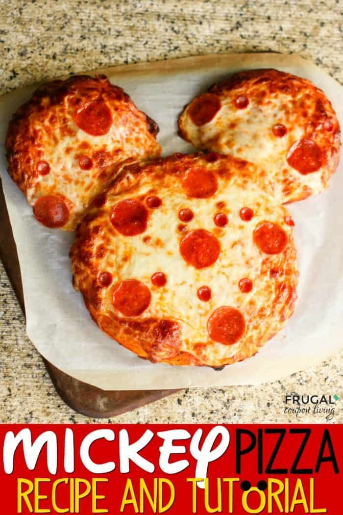 Mickey Mouse Pepperoni Pizza Recipe
