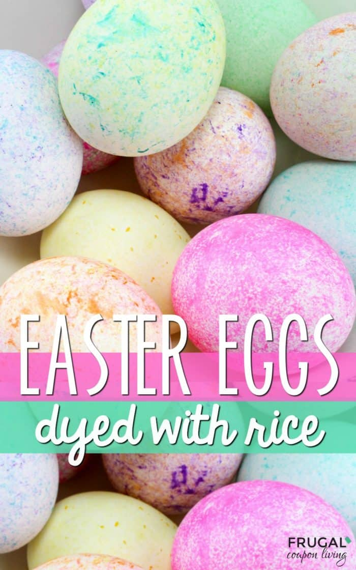Dyeing Easter Eggs with Food Coloring