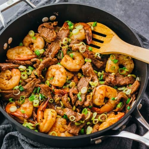 Asian Surf and Turf recipe