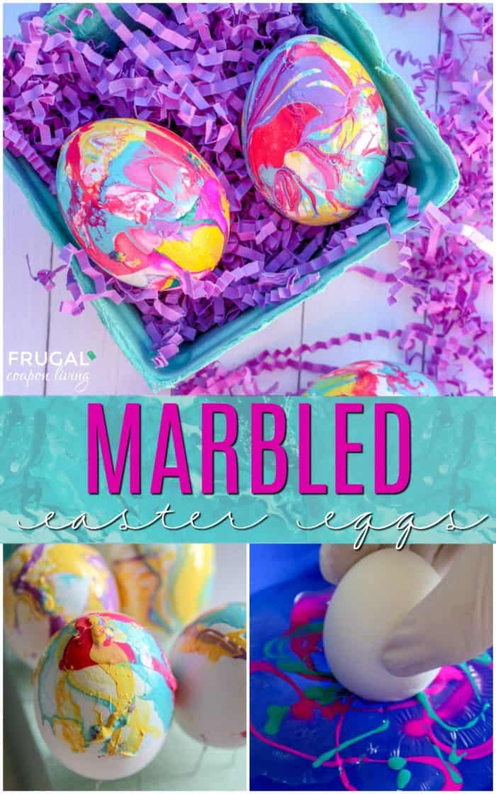 How To Make Marbled Easter Eggs With Nail Polish
