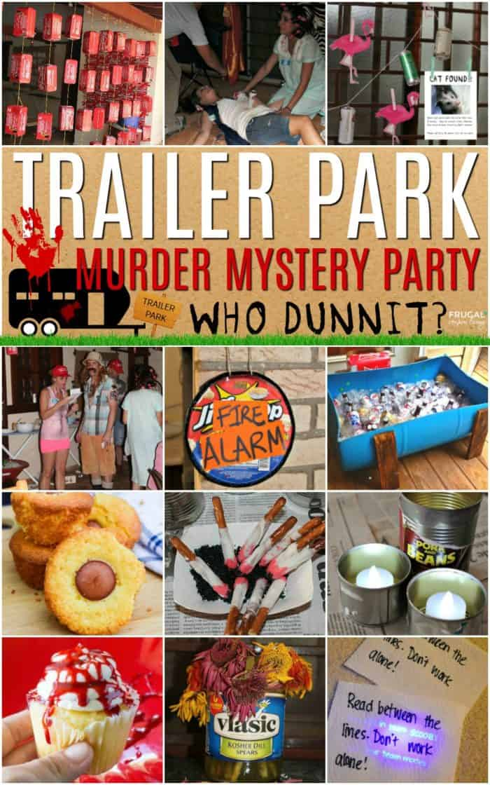Trailer Park Murder Mystery Party