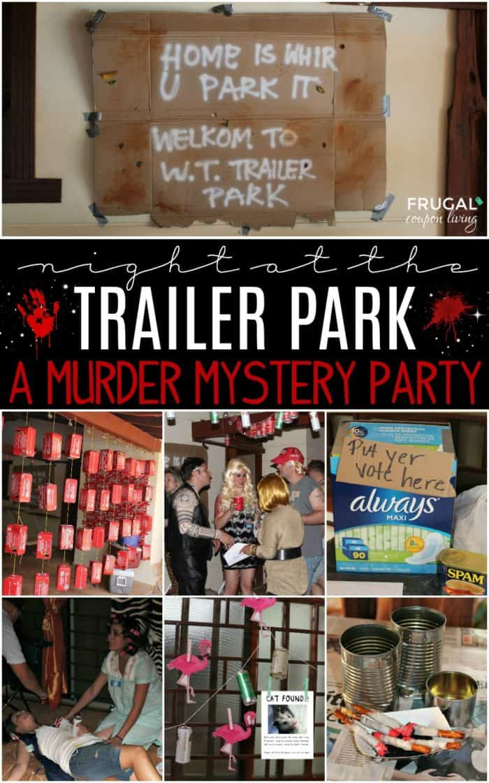 Trailer Park Murder Mystery Party Tragedy
