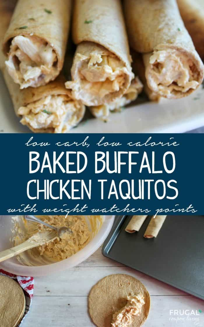 Low Carb Taquitos with Weight Watcher Points