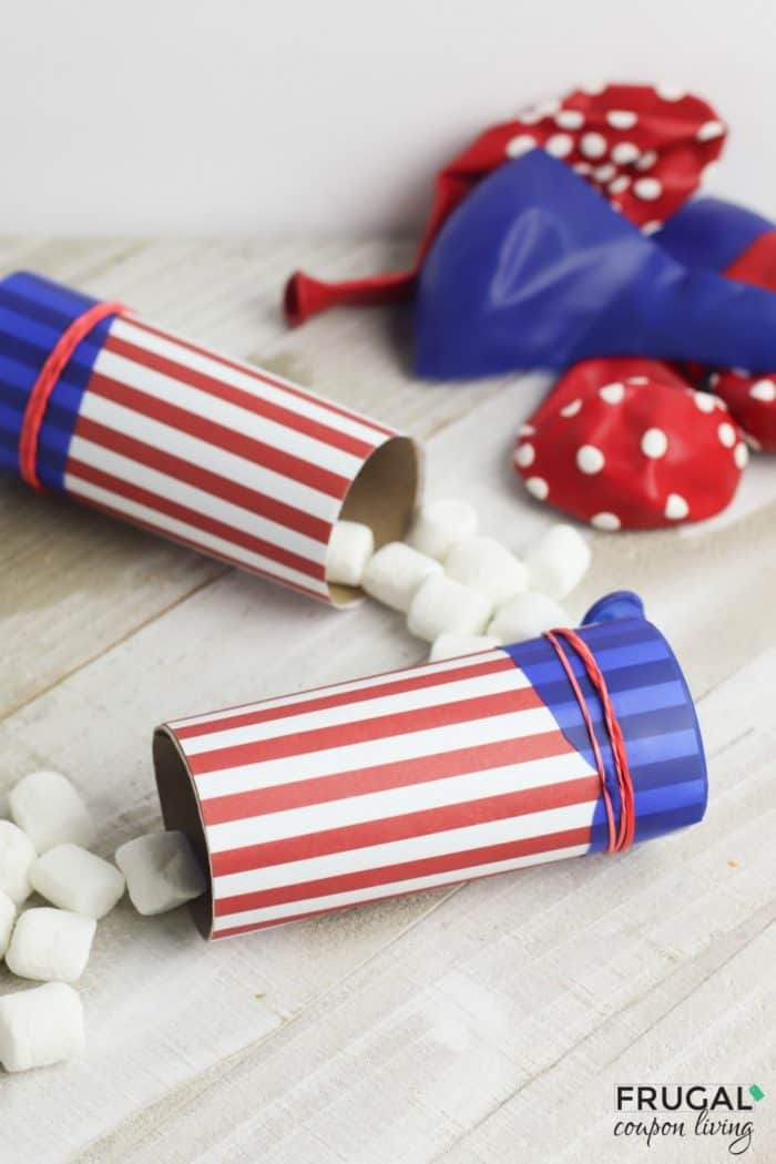 DIY Easy Marshmallow Shooters