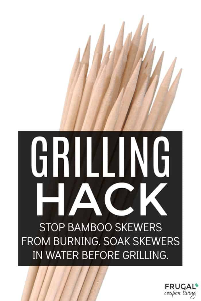 bamboo skewers grilling hack