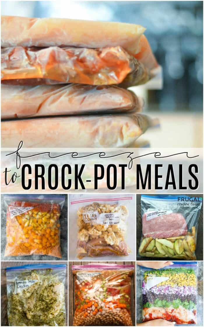 Freezer Healthy Crock-Pot Meals