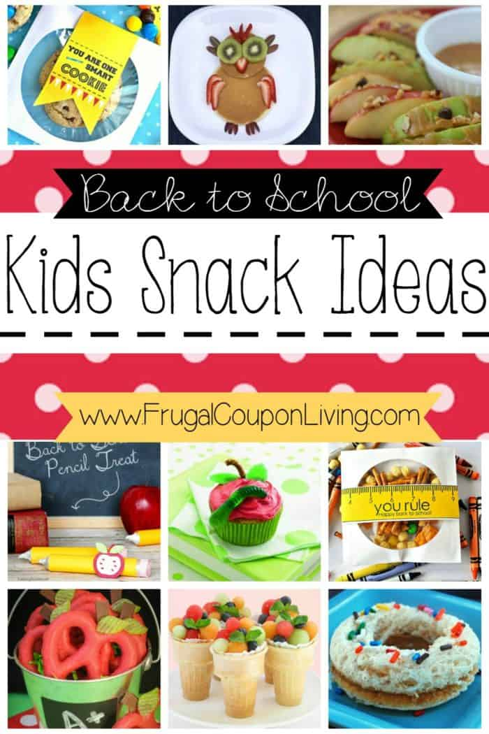 Creative and Easy First Day of School Snacks