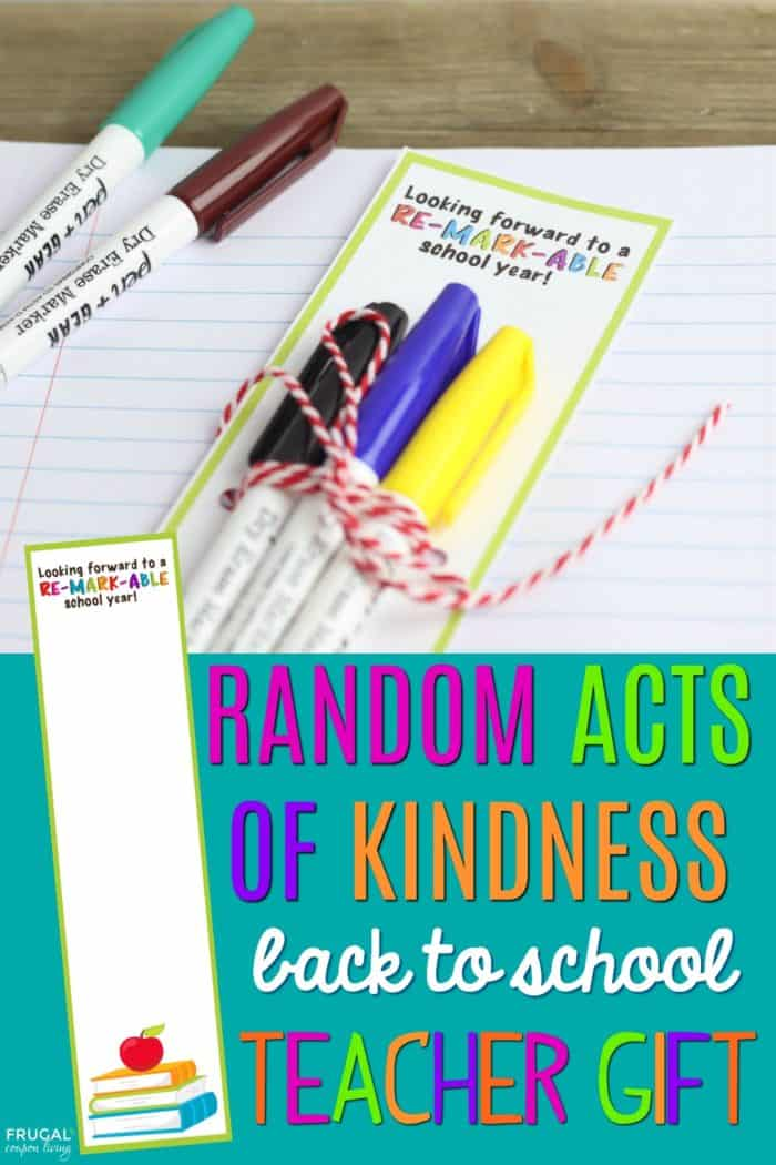 Random Acts of Kindess for Teachers