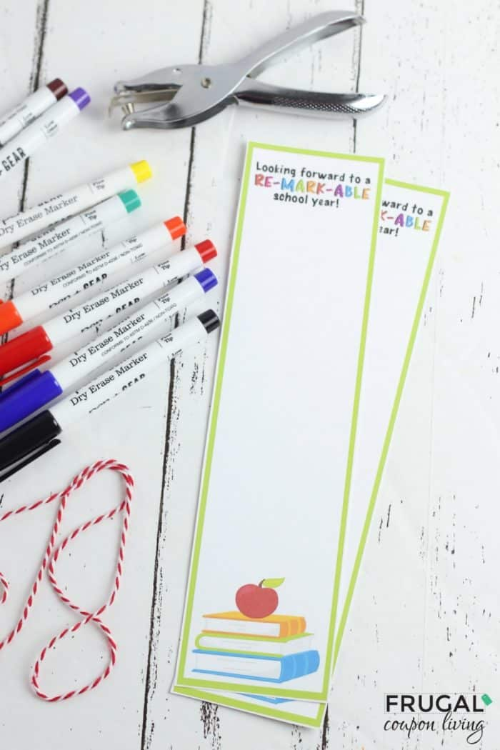 Teacher Bookmark Template