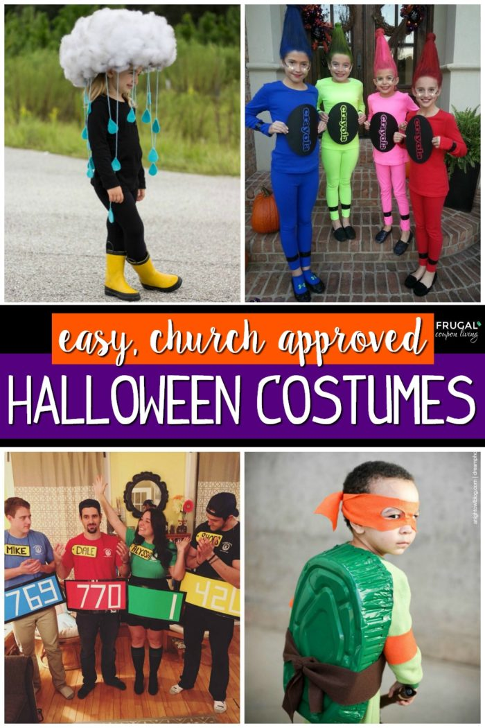 Quick & Easy Halloween Costumes for Church