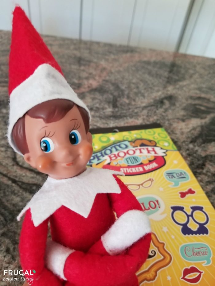 Elf on the Shelf Supplies, Photo Booth Props Stickers