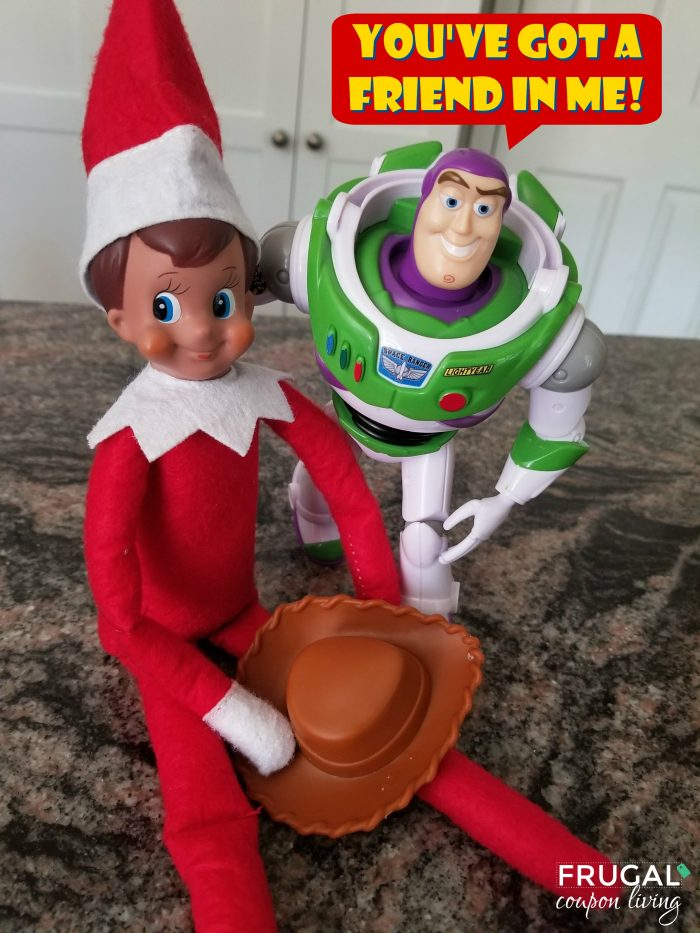 Elf on the Shelf Toy Story Ideas