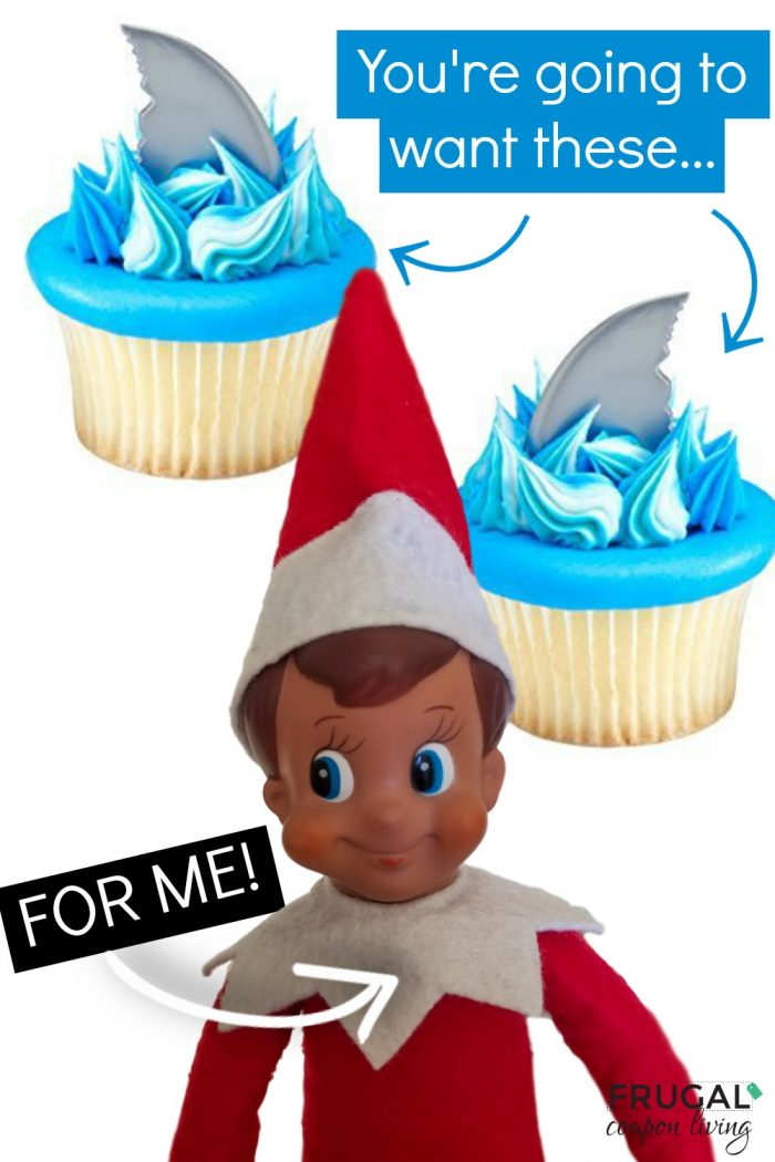 Funny Elf on the Shelf Idea - Baby Shark