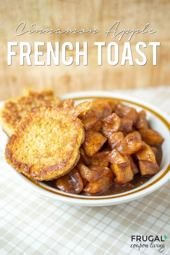Cinnamon Apple French Toast Recipe