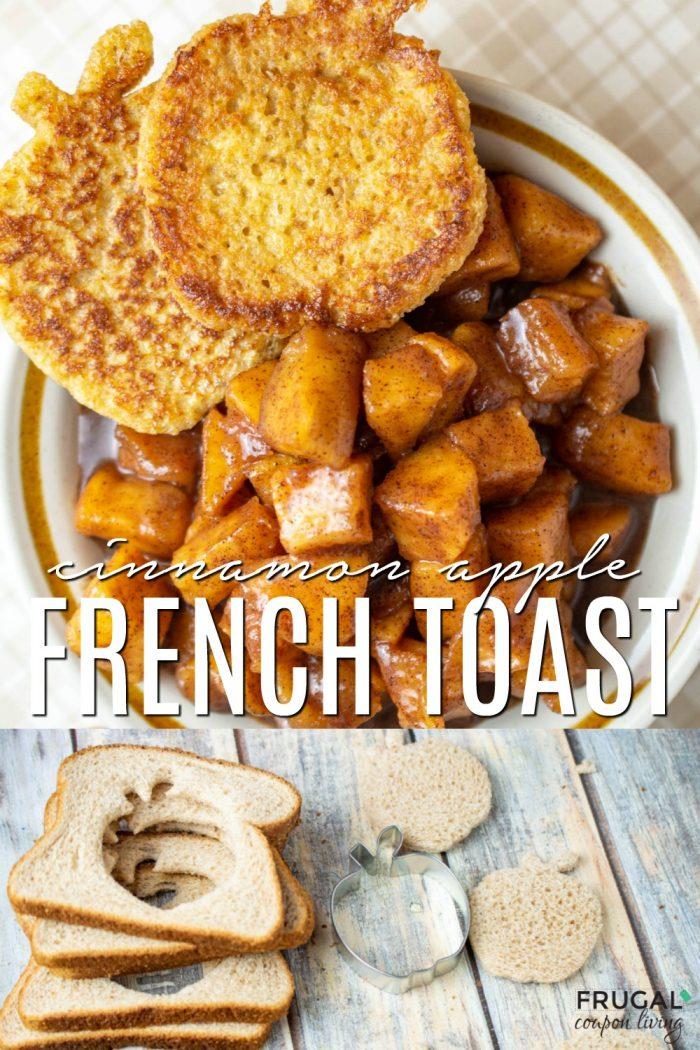 Cinnamon Apple Fall French Toast Recipe