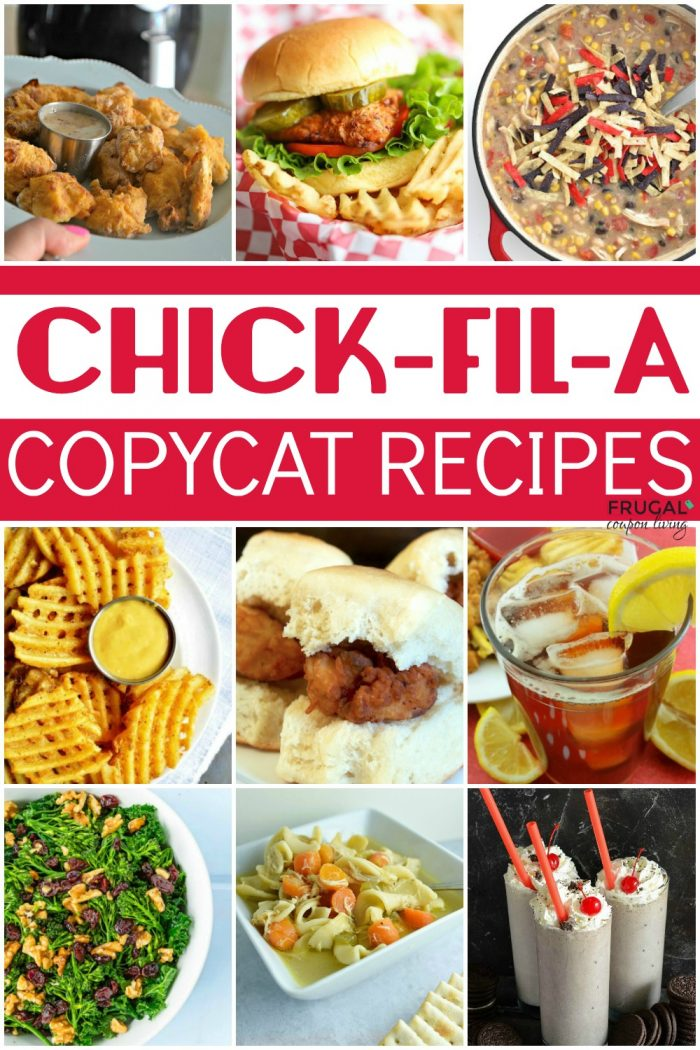 homemade copycat chick-fil-a recipes