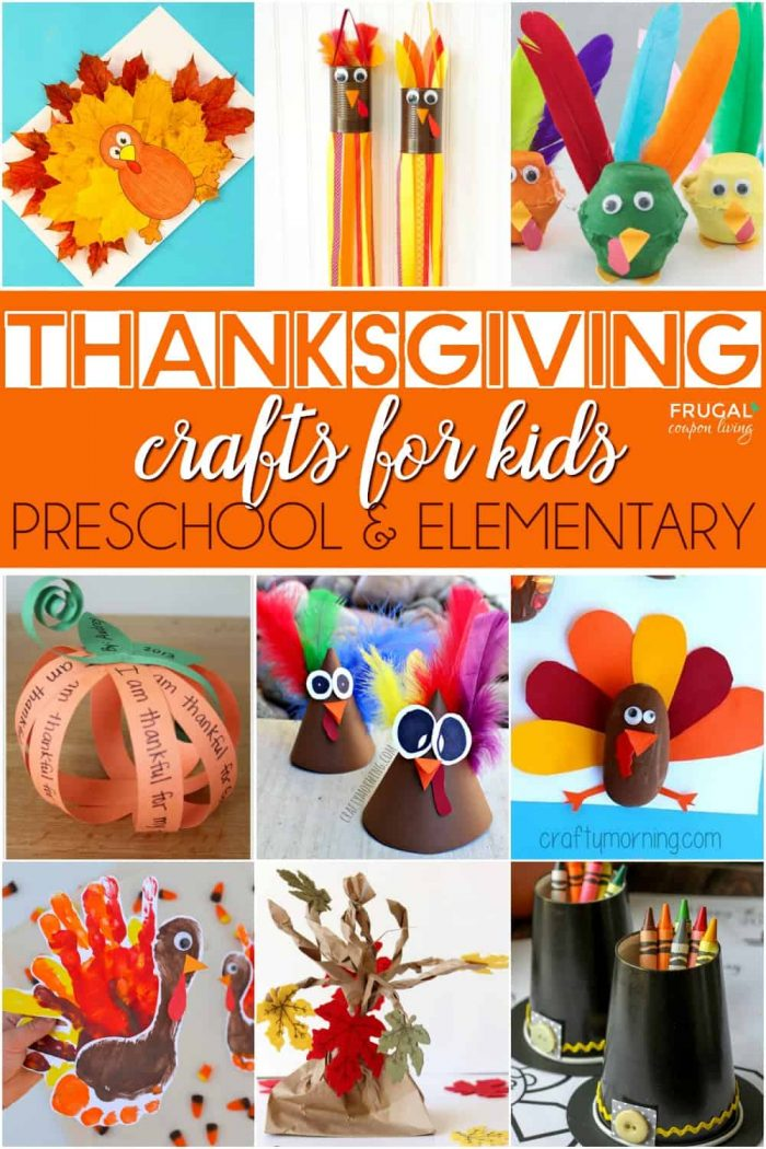 Preschool Thanksgiving Crafts for Kids