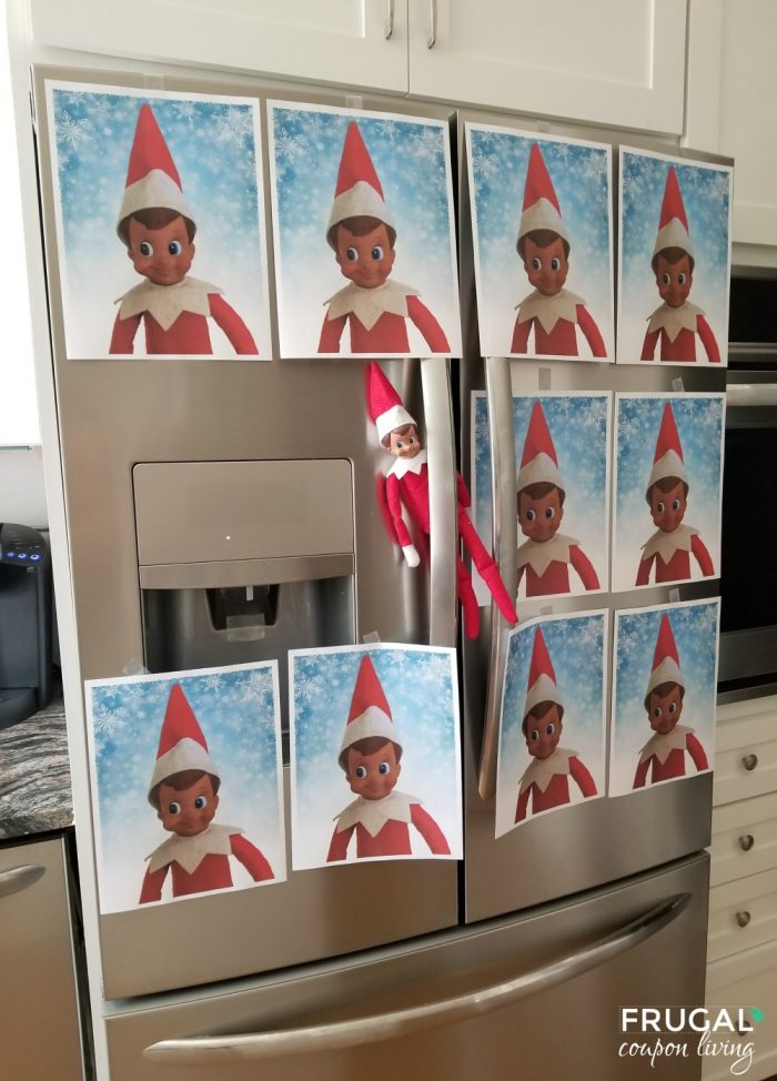 Elf Portrait Printables Elf on the Shelf Ideas