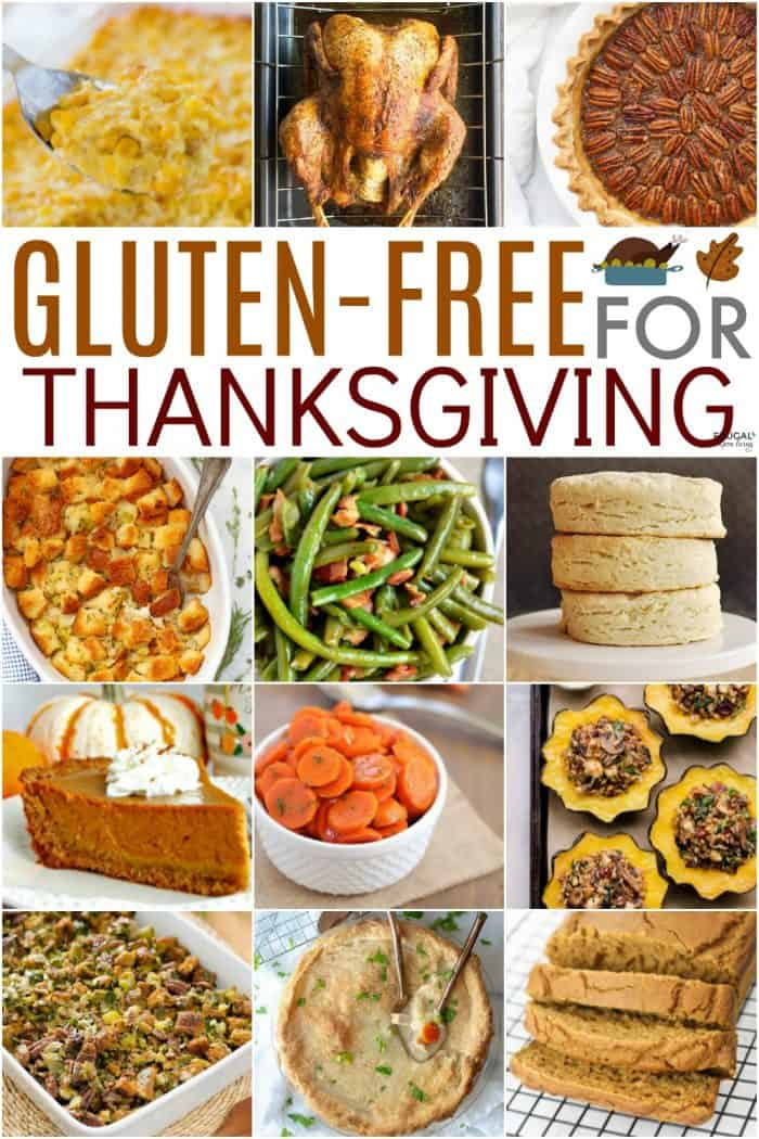 Thanksgiving Gluten Free Recipes