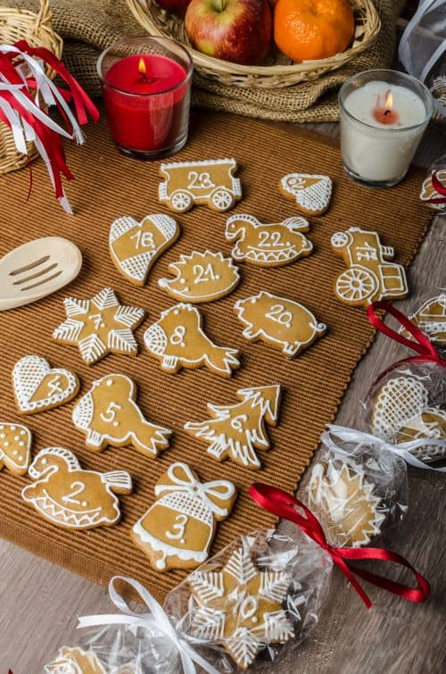 Advent Calendar Cookies