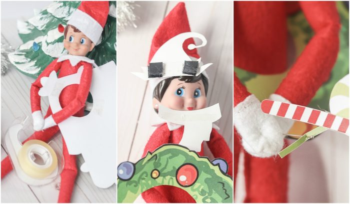 Elf on the Shelf Printable Costumes