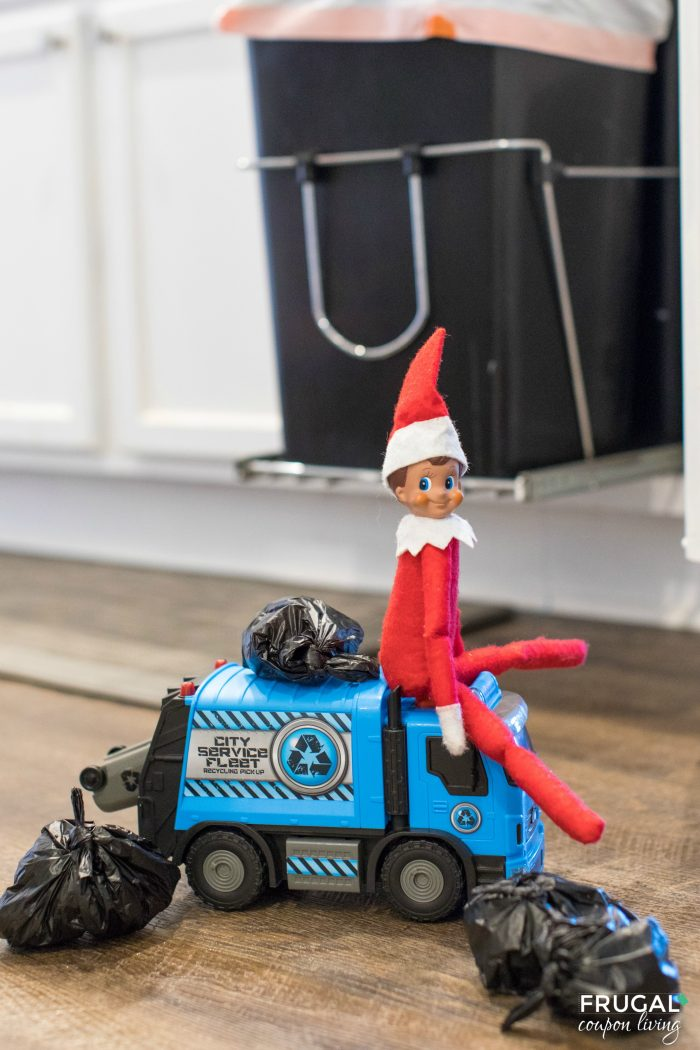 Elf on the Shelf Chores Garbage Bag