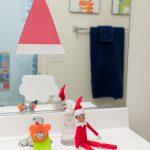 Santa in the Mirror