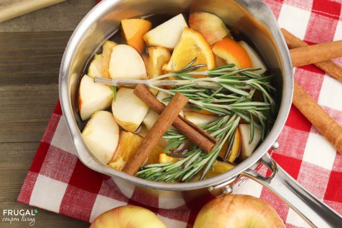 Fall Simmer Pot Recipe Ingredients