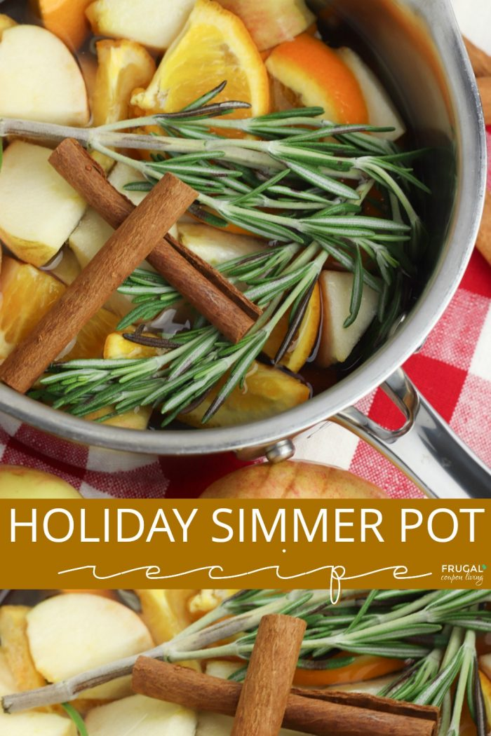 Holiday Simmer Pot Recipe