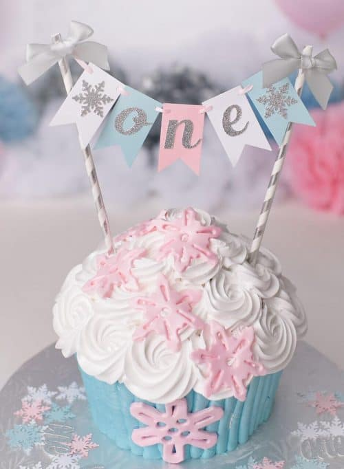 Outstanding Winter Onederland First Birthday Party Ideas Funny Birthday Cards Online Fluifree Goldxyz