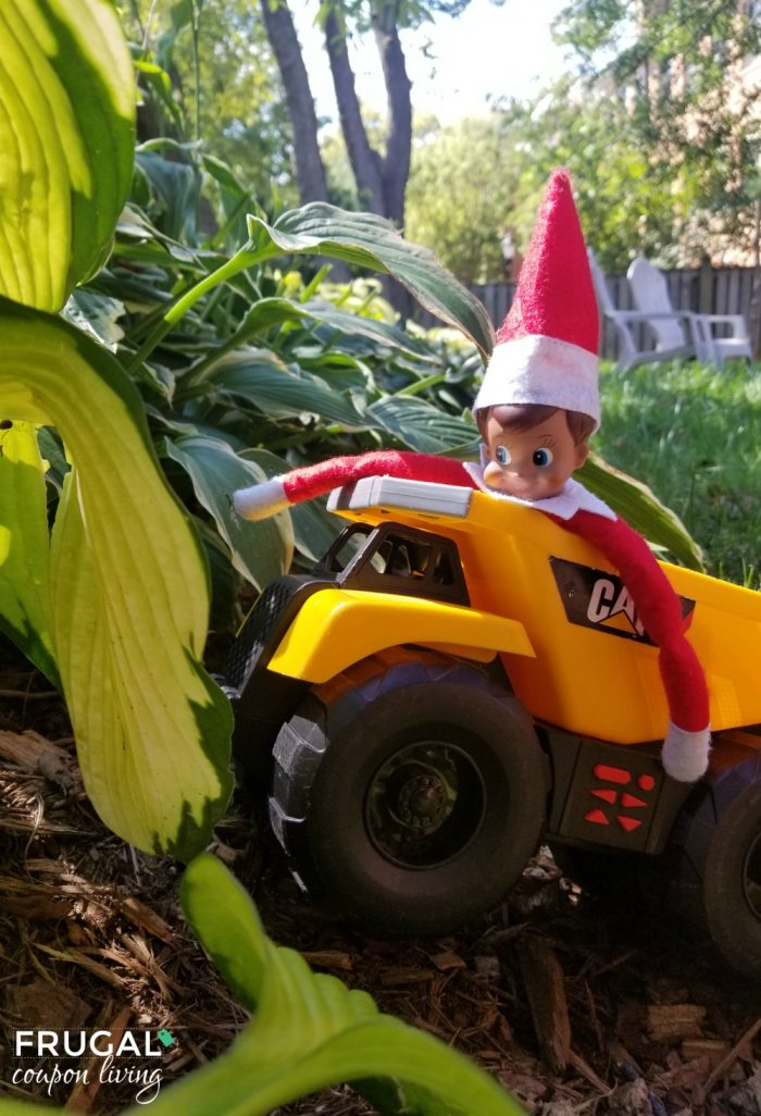 Elf on the Shelf Construction Truck