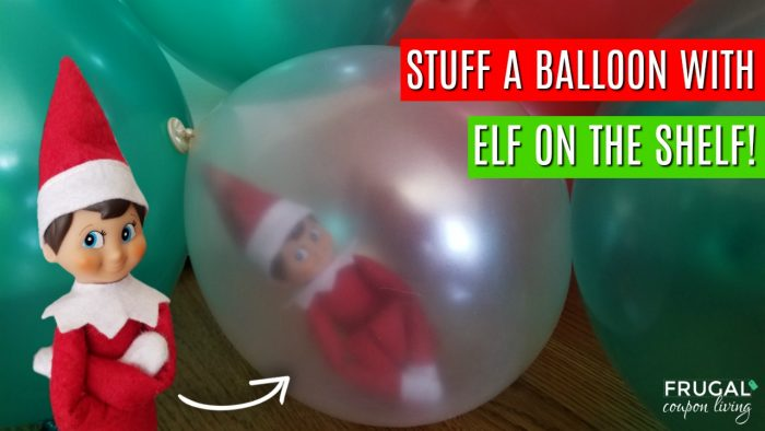 Balloon Stuffing Tool and this Elf on the Shelf Hack