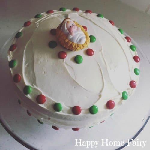 Admirable Jesus Birthday Cakes For Christmas Personalised Birthday Cards Akebfashionlily Jamesorg