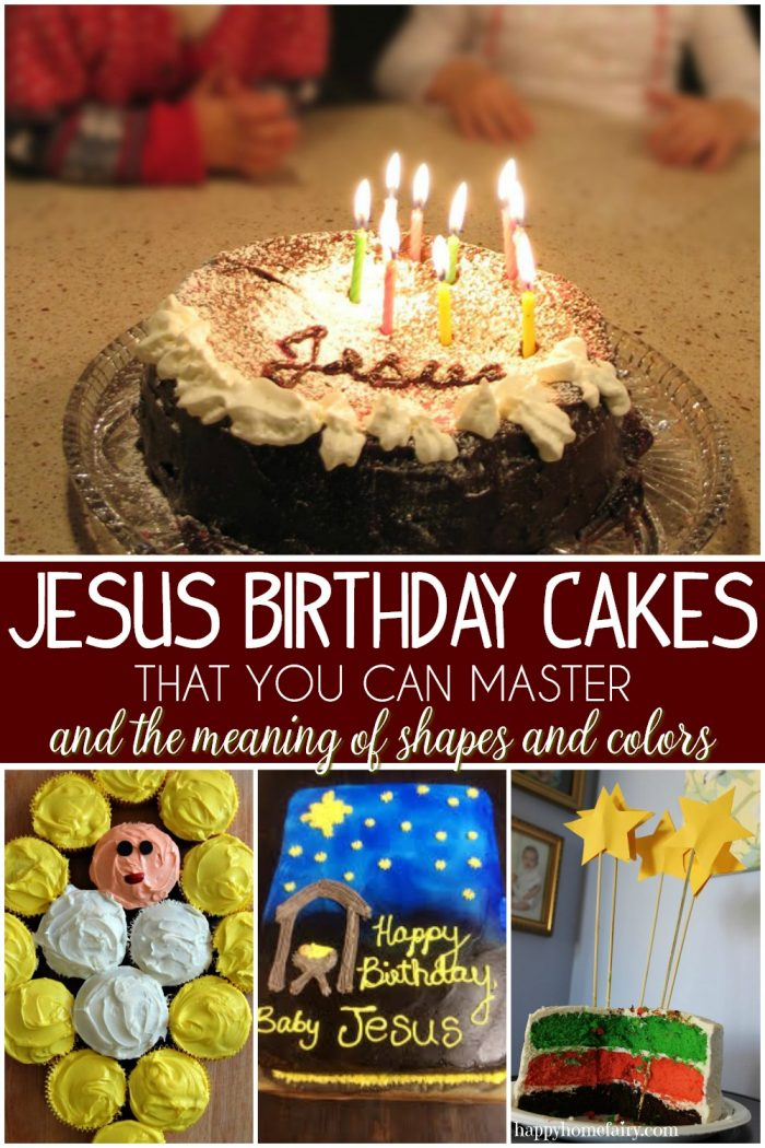 Jesus Birthday Cakes for Christmas