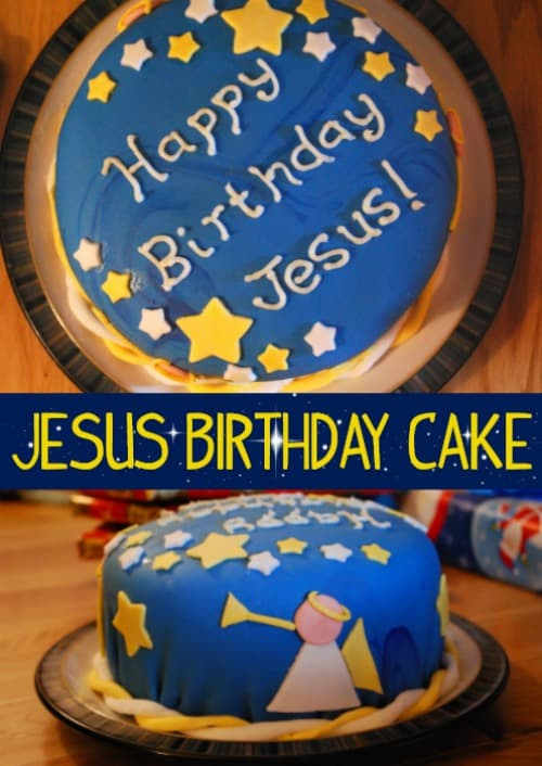 Awe Inspiring Jesus Birthday Cakes For Christmas Funny Birthday Cards Online Chimdamsfinfo