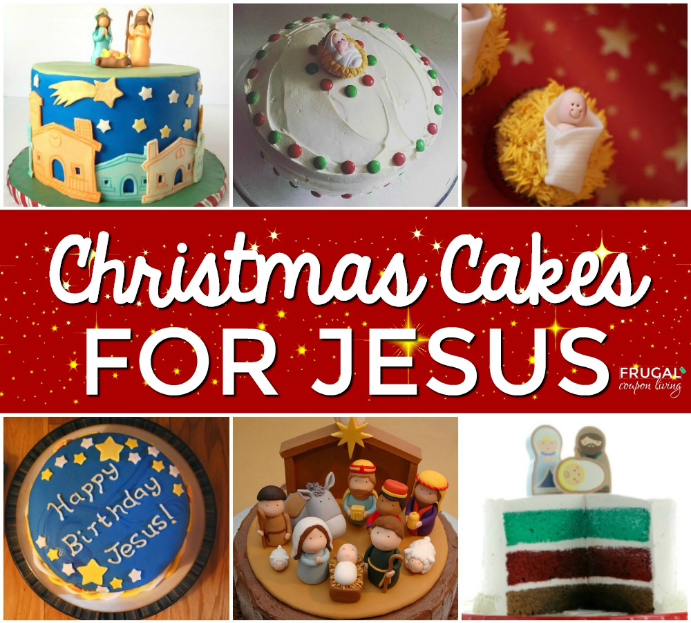 Super Jesus Birthday Cakes For Christmas Funny Birthday Cards Online Overcheapnameinfo