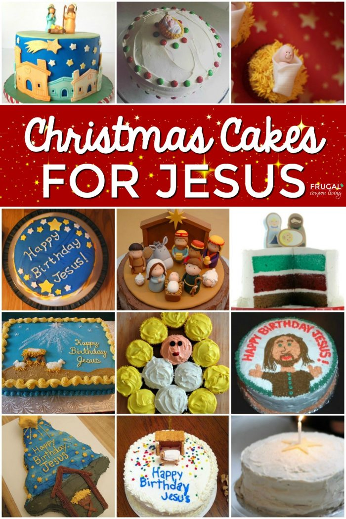 Pleasant Jesus Birthday Cakes For Christmas Funny Birthday Cards Online Overcheapnameinfo