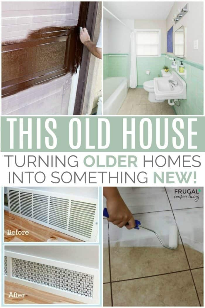 Older Home Improvement Hacks and DIY Renovation Ideas