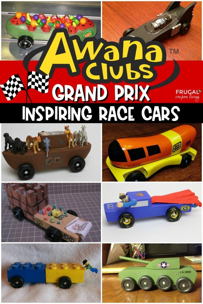 Awana Grand Prix Race Car Ideas