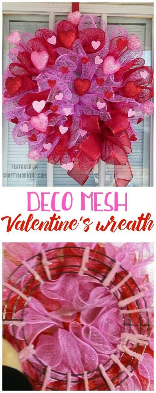 Valentine Wreath Valentine S Day Decor For Your Door